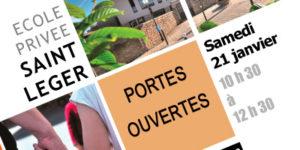 ECOLE SAINT-LEGER : PORTES OUVERTES @ Ecole Saint-Leger
