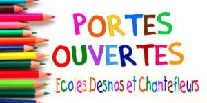 Portes ouvertes écoles Desnos et Chantefleurs @ Ecoles Denos et Chantefleurs