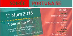 Soirée portugaise @ Salle polyvalente - Complexe sportif Stéphane Traineau | Mortagne-sur-Sèvre | Pays de la Loire | France