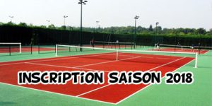 Tennis - Inscription 2017 - 2018 @ Complexe sportif Stéphane Traineau