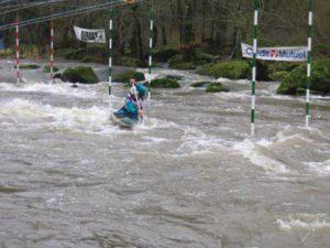 Compétition Canoë-kayak @ Le Thouet