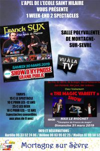 Spectacle d'hypnose @ Salle polyvalente