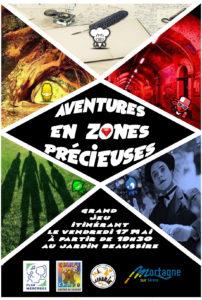 Aventure en zones précieuses : grand jeu itinérant @ Jardin Beaussire