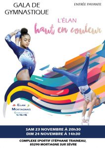 Gala de gymnastique @ Complexe sportif Stéphane Traineau
